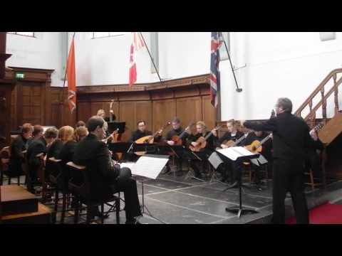 SERENATA ESPAGÑOLA by Joaquín Malats - Mandolin Orchestra HET CONSORT