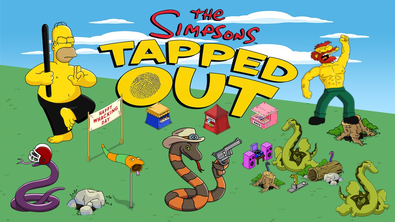 Simpsons tapped out whacking day prizes pictures