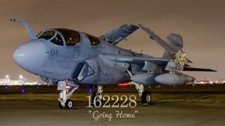 Final Flight of EA-6B Prowler 162228