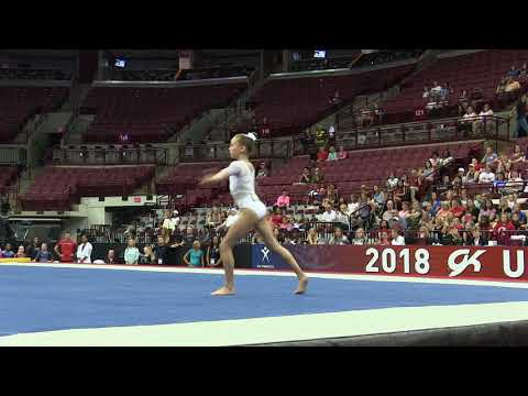 Katelyn Rosen - Floor Exercise - 2018 GK U.S. Classic - Junior Competition