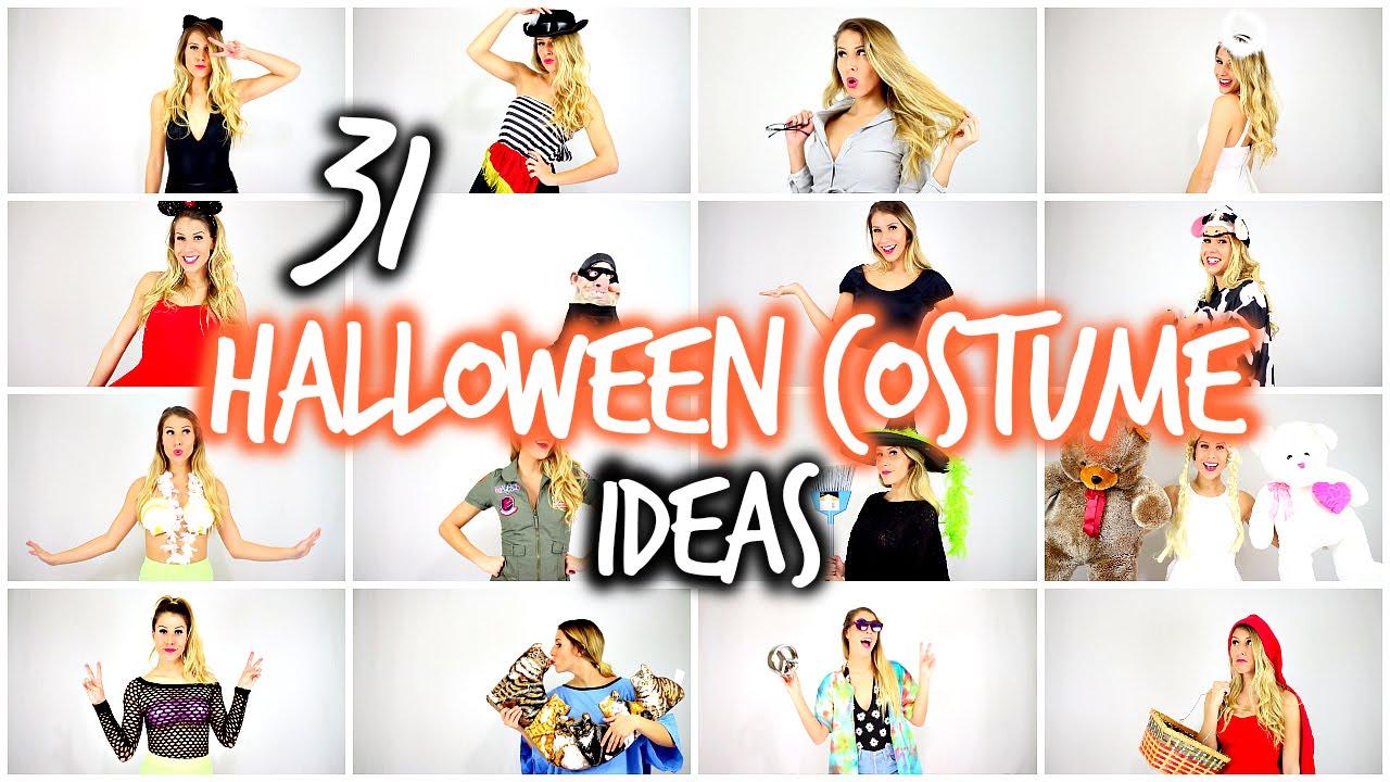 31 last minute halloween costume ideas laura reid youtube - Last Minute Costume Ideas For Halloween