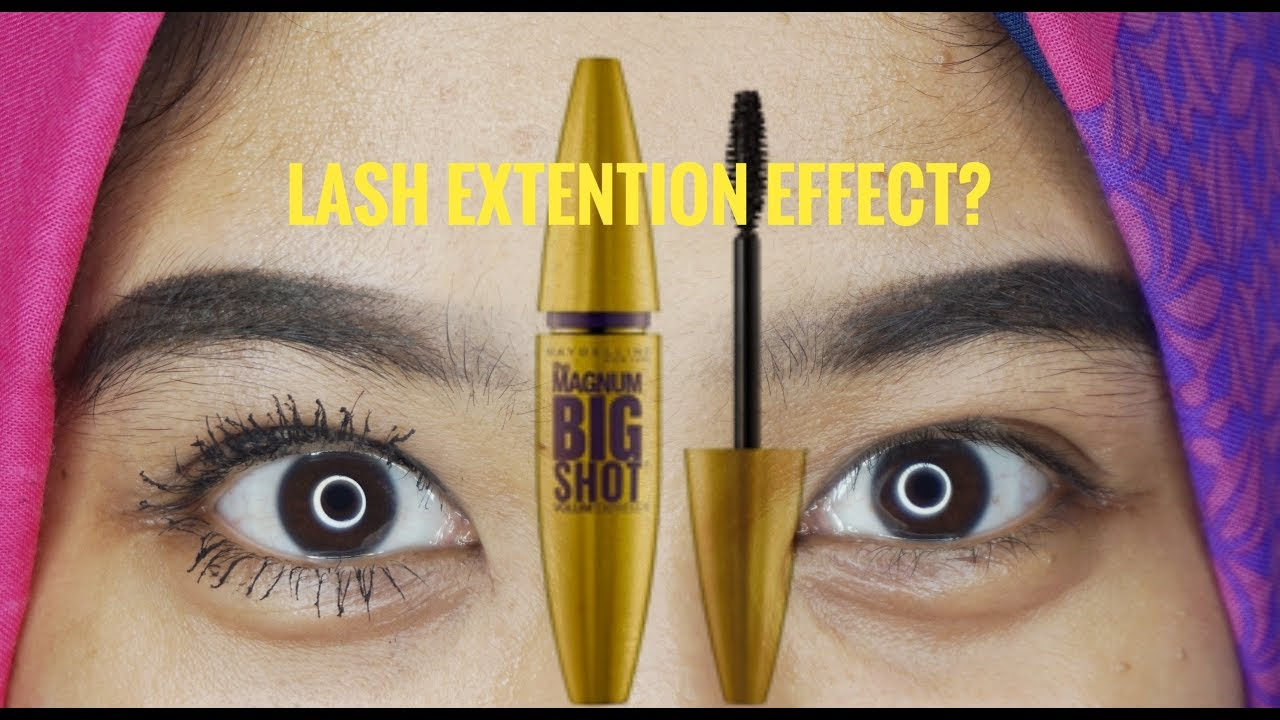 f15f8161a6d MASCARA MAYBELLINE THE MAGNUM BIG SHOT REVIEW - YouTube