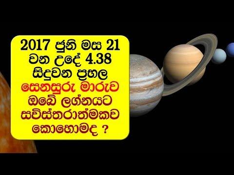 ජුනි 21 වන දින සිදුවන ප්රභල සෙනසුරු මාරුව ඔබේ ලග්නයට කොහොමද ? - 2017 Saturn Transit Scorpio