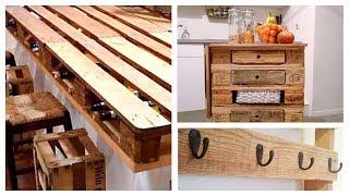 Ideias criativas de Móveis de Cozinha feitos de Pallets