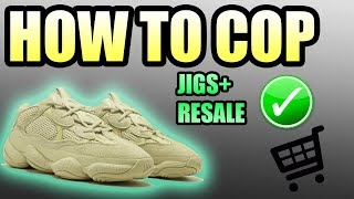 How To Get The SUPER MOON YELLOW YEEZY 500 ! | MP JIG Step by Step Walkthrough (NO BOT)