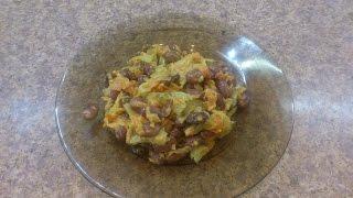 Салат с фасолью. Простой рецепт