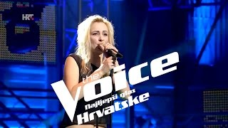 "Ivana Brkašić: ""Everlong"" - The Voice of Croatia - Season2 - Knockout 1"