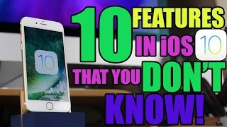 10 iOS 10 Features You Don't Know About!