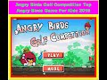 Angry Birds Golf Competition Top Angry Birds Game For Kids 2015