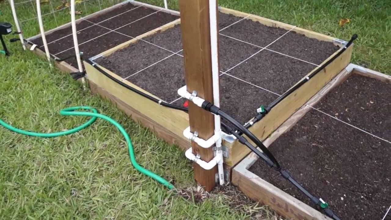Simple Raised Bed Irrigation