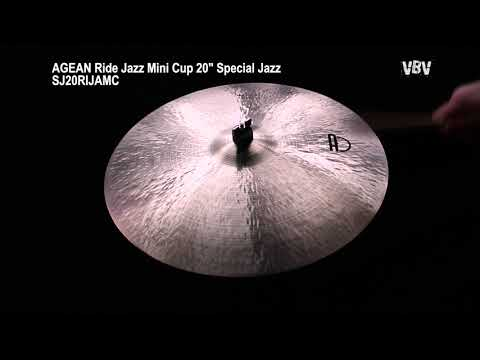 "20"" Ride Jazz Mini Cup Special Jazz video"