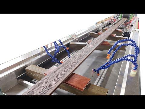 WPC Decking Extrusion  Machine/WPC Flooring Machine/ WPC Profile Making Machine