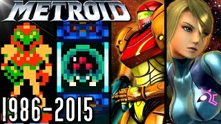 Metroid ALL INTROS 1986-2015 - NES to Prime Federation Force (3DS, Wii, GC, SNES)