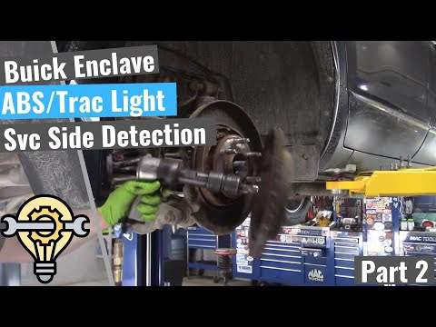 Buick Enclave: ABS / Traction Light & Service Side Detection System - Part 2 from YouTube · Duration:  23 minutes