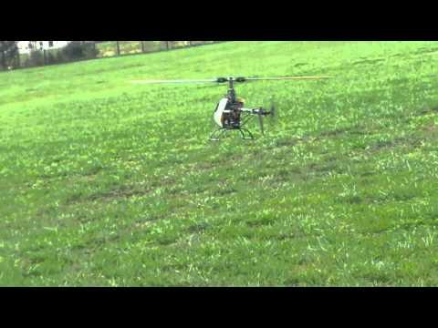Ofer Effy plotnik flying T-Rex 600 in holy spring North Carolina