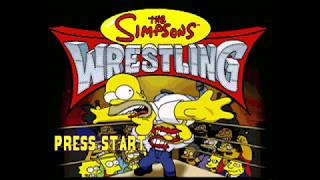 GBHBL Game Review: The Simpsons Wrestling (PS1)