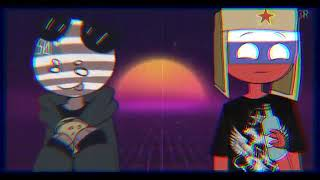 two time (countryhumans) (collab with xifall) (russia and usa)(2k special)(old)