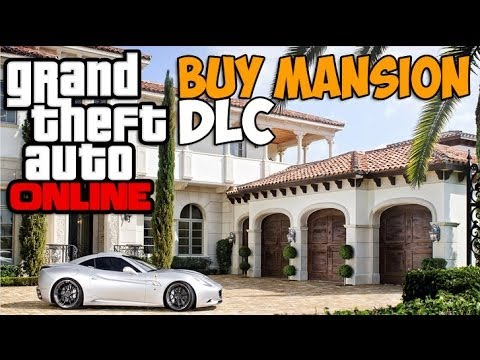 Gta 5 online buy mansion house crib dlc soon gta v new for Buy house online