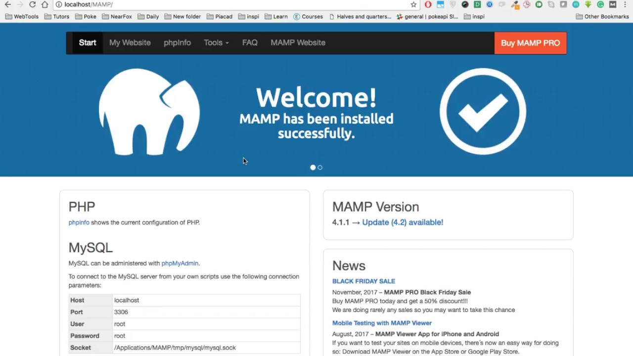 [MAC] Solved! Upload Maximum Size in PhpMyAdmin Database [Localhost]