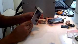 cara mengganti touchscreen andromax AD683G