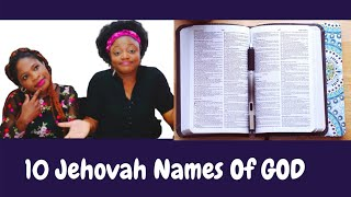 10 Jehovah Names oḟ God and their meanings in less than a minute | #RefreshingInsights #Challenge