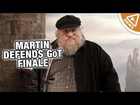 George RR Martin Defends the Game of Thrones Finale Nerdist News w Jessica Chobot