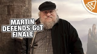 George R.R. Martin Defends the Game of Thrones Finale! (Nerdist News w/ Jessica Chobot)
