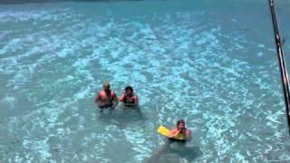 Catamaran Trip in Fajardo Puerto Rico April 1 2011