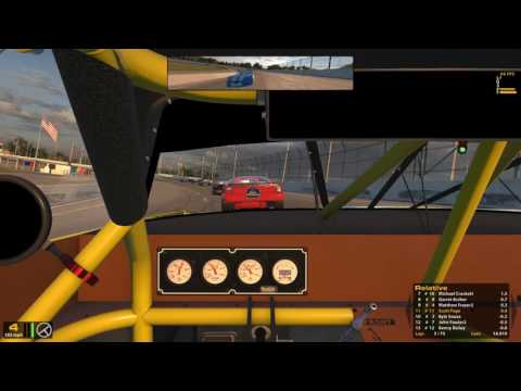 iRacing Super Late Models at 5 Flags Old Bay Racing with friends