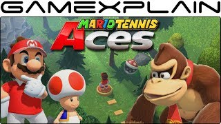 10 Minutes of Story Mode Gameplay in Mario Tennis Aces (Nintendo Switch)