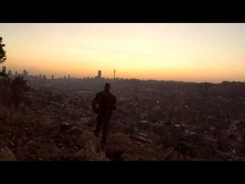 Johannesburg CBD Timelapse at Sunset
