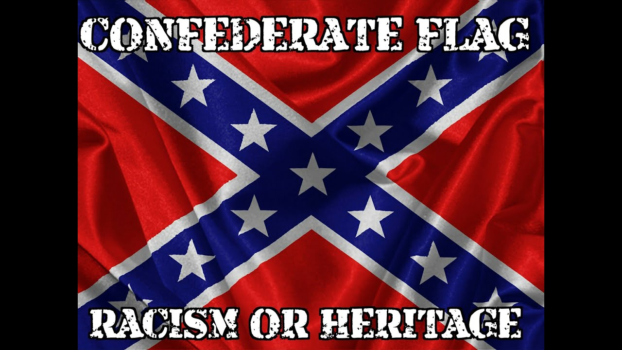 the confederate flag racism or heritage youtube