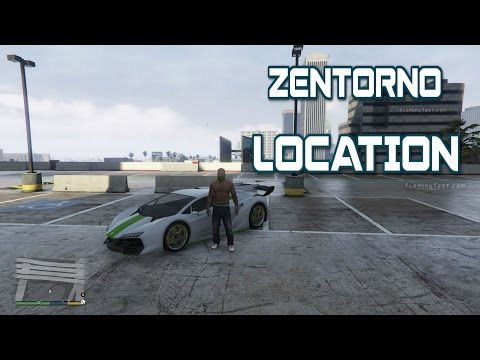 HOW TO FIND PEGASSI ZENTORNO IN GTA5 STORY MODE!!!