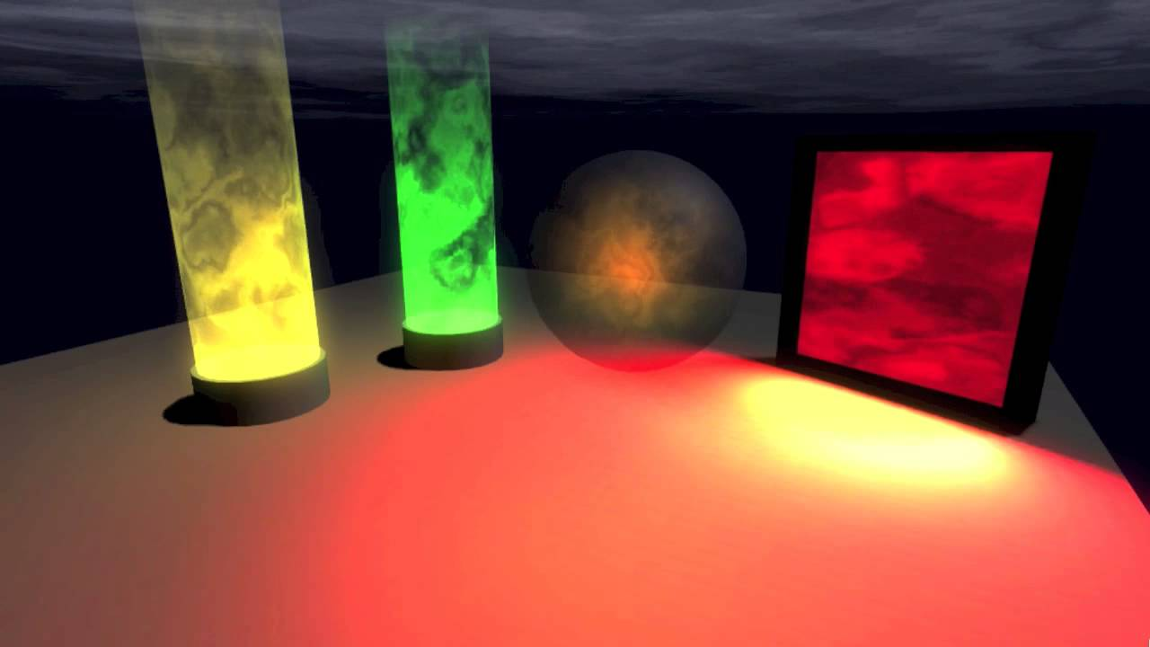 Glowing Psychedelic Smoke Shader for Unity