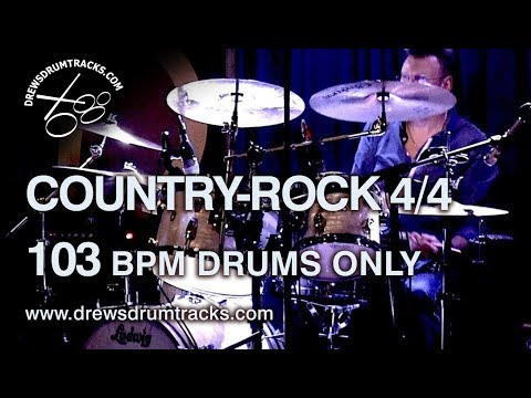 Drum Track 103 bpm CountryRock groove