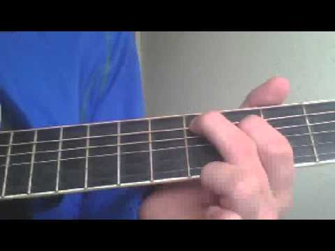 How To Play Bottoms Up On The Guitar Youtube