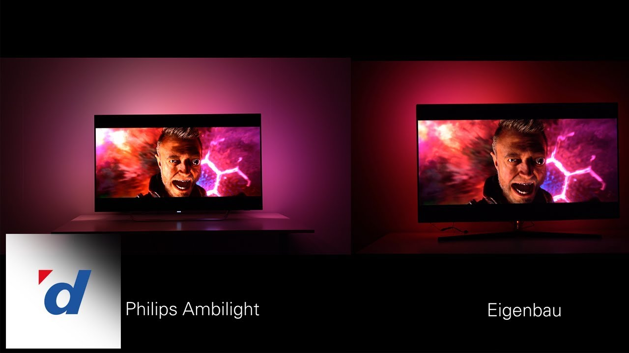 Bild Mit Led Hintergrundbeleuchtung Do It Yourself Building Your Own Ambilight Digitec