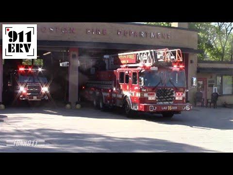 Cincinnati Ladder 17 (Spare) and Medic 17 Responding - YouTube