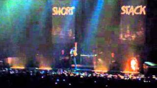 Short Stack - Planets (Live at Brisbane Entertainment Centre 8/4/11 - GC tour)