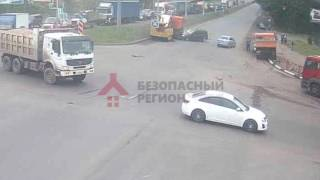 ДТП КАМАЗ vs Лада Ларгус Московский/Калинина. 26.06.17