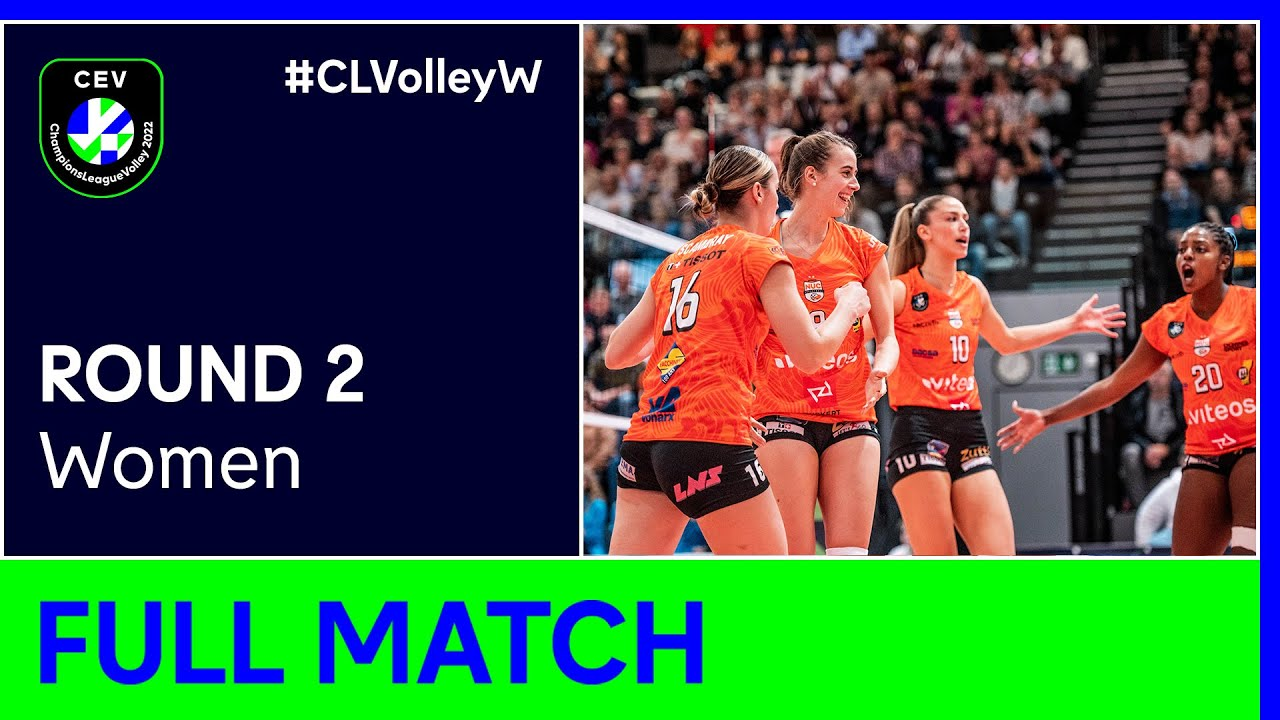 Viteos NEUCHATEL UC vs. Mladost ZAGREB - CEV Champions League Volley 2022 Women | Round 2