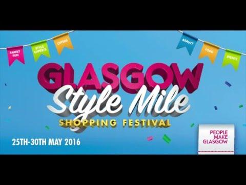 Heart Radio's Adele celebrates the Glasgow Style Mile Shopping Festival!
