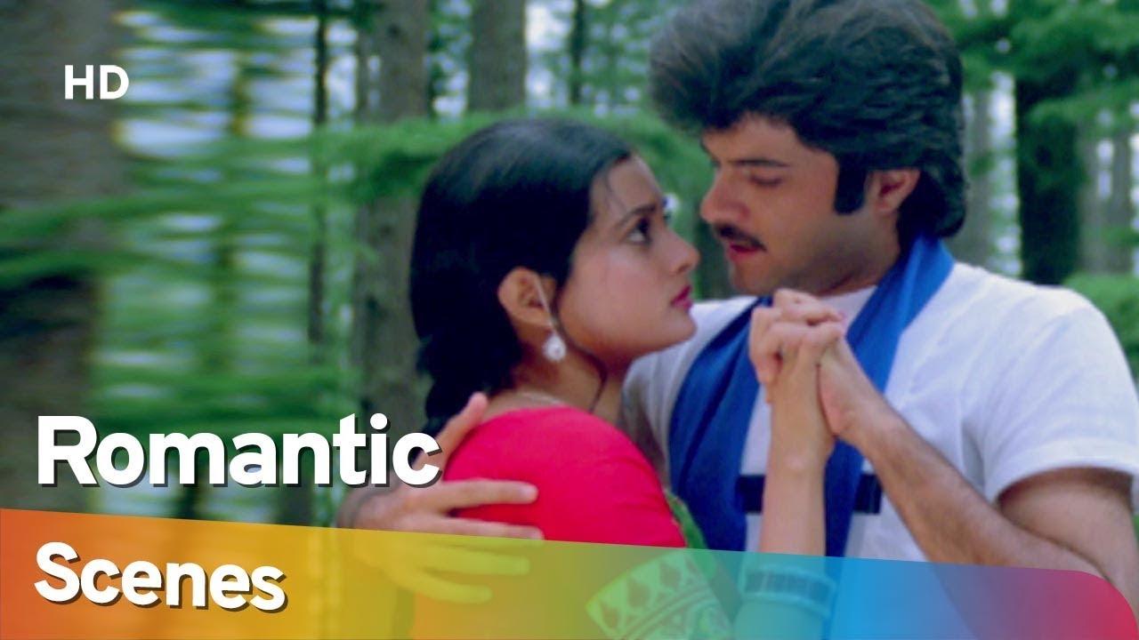 Download Anil Kapoor and Vijayata Pandit Romantic Scenes from Mohabbat (1985) - Amjad Khan - Hit Hindi Movie