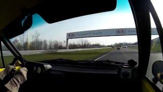 Žlutka 2016 autodrom Most 1. jízda