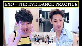 figcaption EXO - THE EVE DANCE PRACTICE REACTION 전야 (前夜)