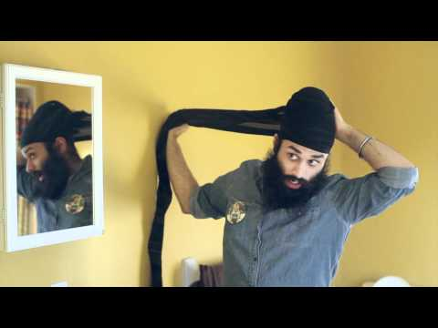 Babbus Pagh Tutorial How to Tie a Turban