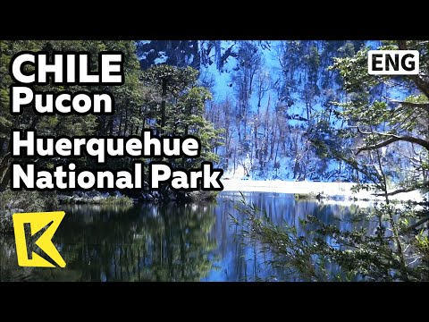【K】Chile Travel-Pucon[칠레 여행-푸콘]우에르께우에 국립공원의 대자연 모습/Huerquehue/National Park/waterfall/Andes
