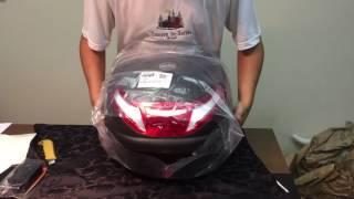 Unboxing - Baú Givi E-30RN + Trava de Punho Tecklock