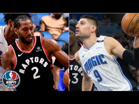 Kawhi Leonard's 21 bested by Nikola Vucevic's 30 and 20 as Magic beat Raptors | NBA Highlights