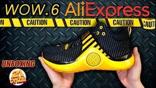 Comprando tênis de basquete no AliExpress + Unboxing LiNing WOW 6